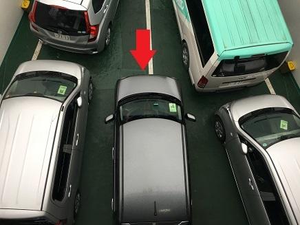 5122017 フェリー内愛車S4