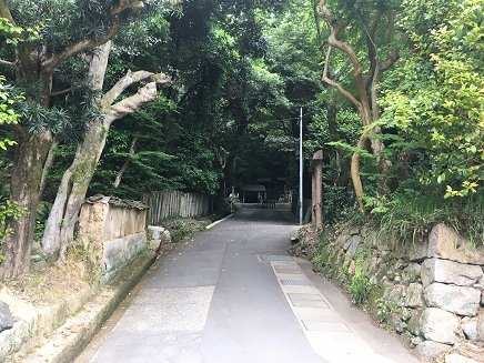 5122017 52番太山寺長い参道坂S5