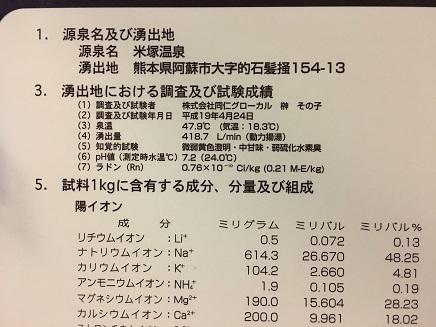 6062017 米塚温泉分析表S