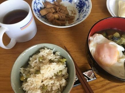 6052017 Lunch豆ごはんS