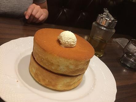星乃珈琲のパンケーキ001 201706147