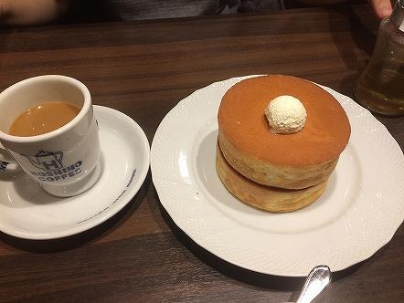 星乃珈琲のパンケーキ002 201706147