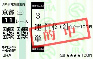 京都新聞杯_的中2