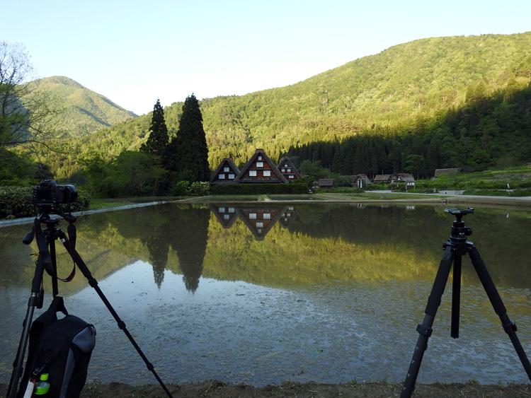 四季を通して、まさに絵画のような景色を楽しませてくれる白川郷 ①
