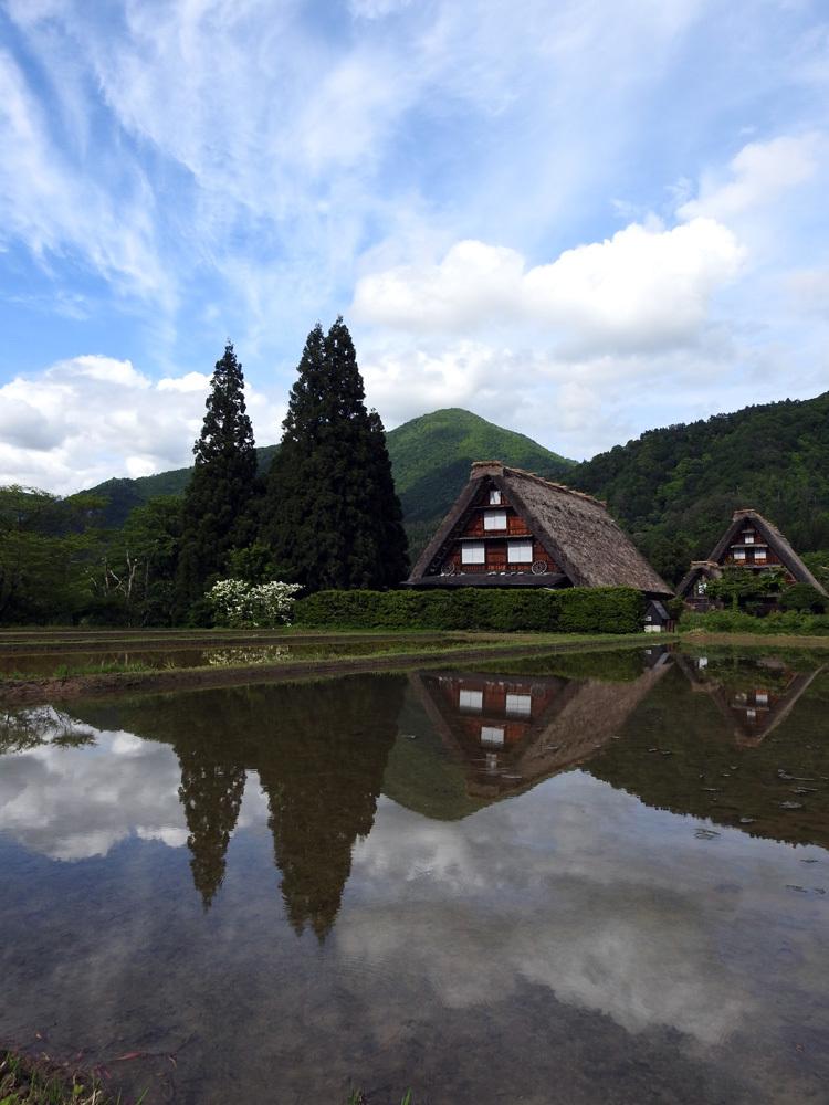 季節毎に変わる自然とともに白川郷を散策♪1