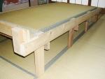 自作傾斜ベッド