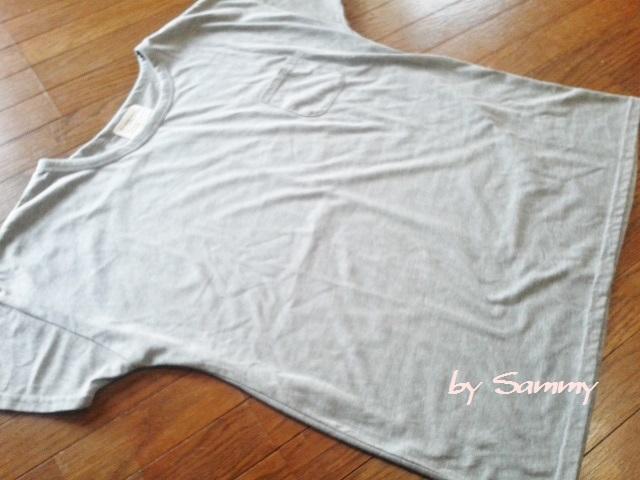 しまむら グレーTシャツ 1