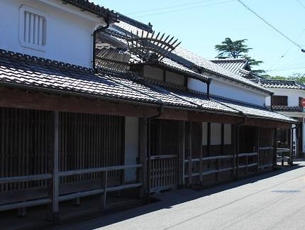 菊屋家住宅(重文)