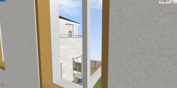 030_相手先縦すべり窓から_右側の窓