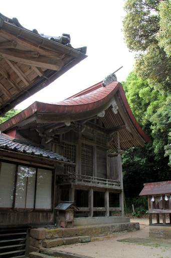 美談神社の御本殿