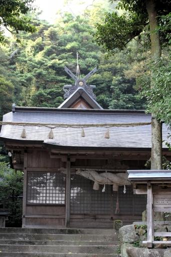 阿須伎神社拝殿