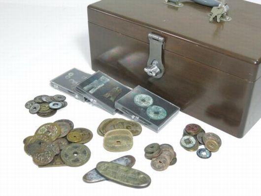 布幣など 古銭いろいろ