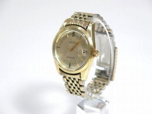 オメガ OMEGA シーマスター デイト 自動巻き 腕時計