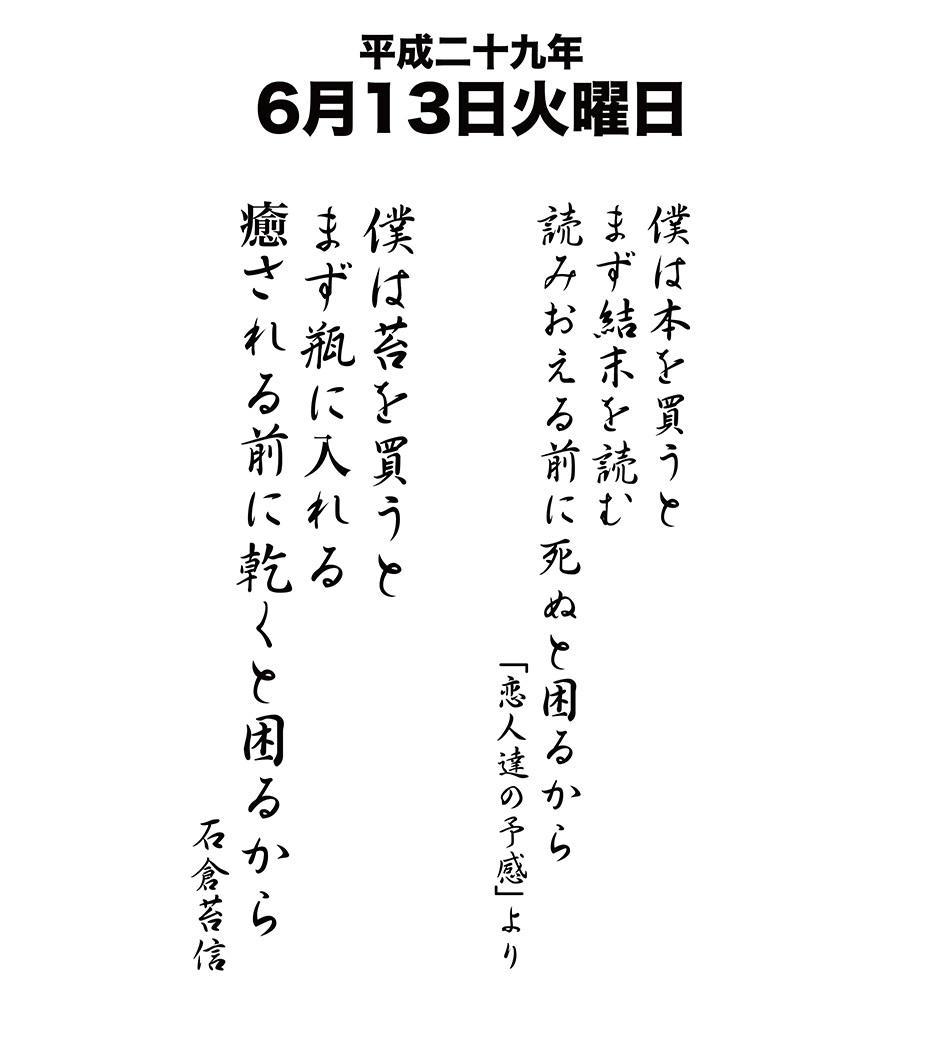平成29年6月13日