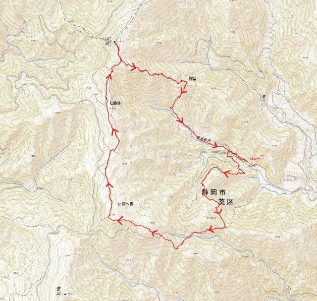 山伏(地図)