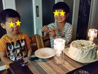 次男くん誕生日