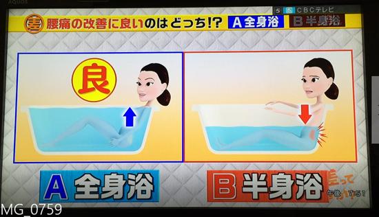 腰痛の改善に良いのは、全身浴?半身浴?