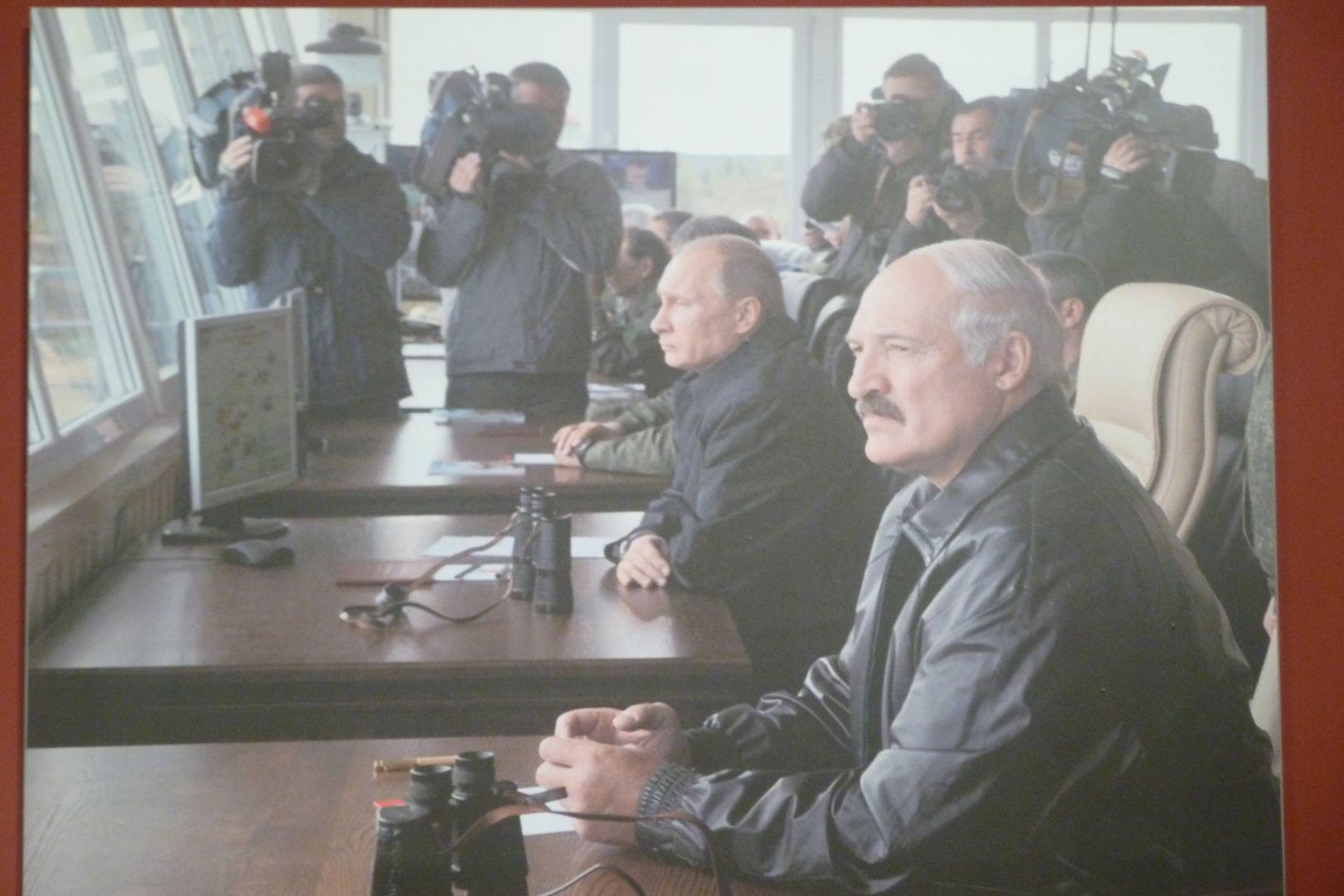 Putin e Lukashenko