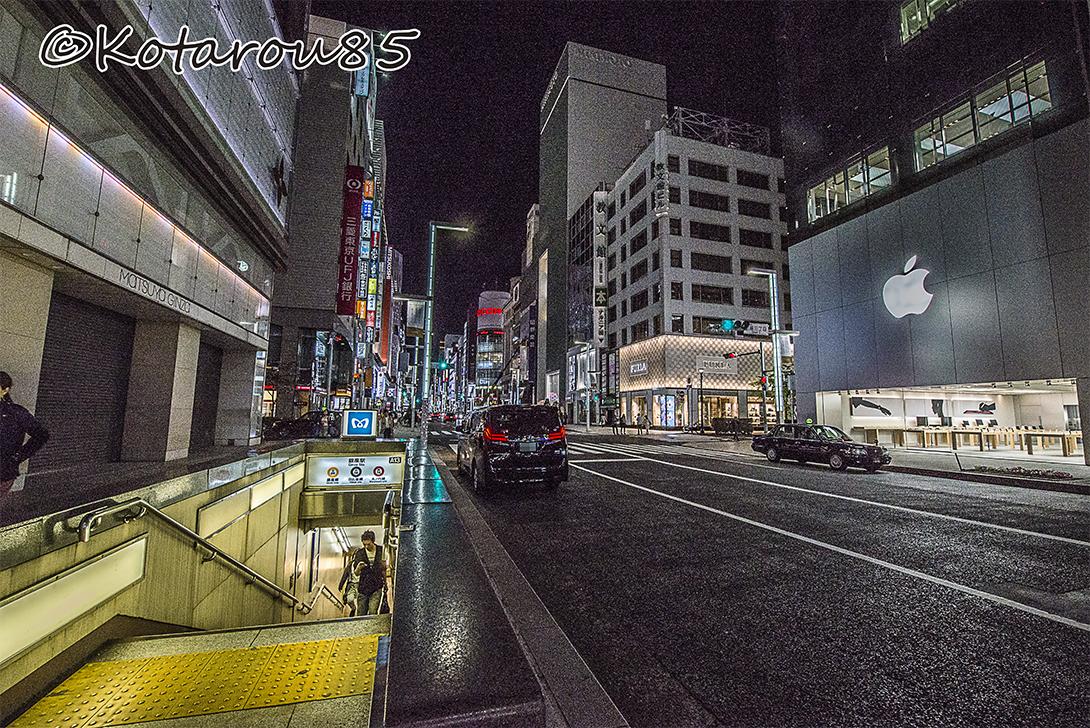 銀座駅 20170502