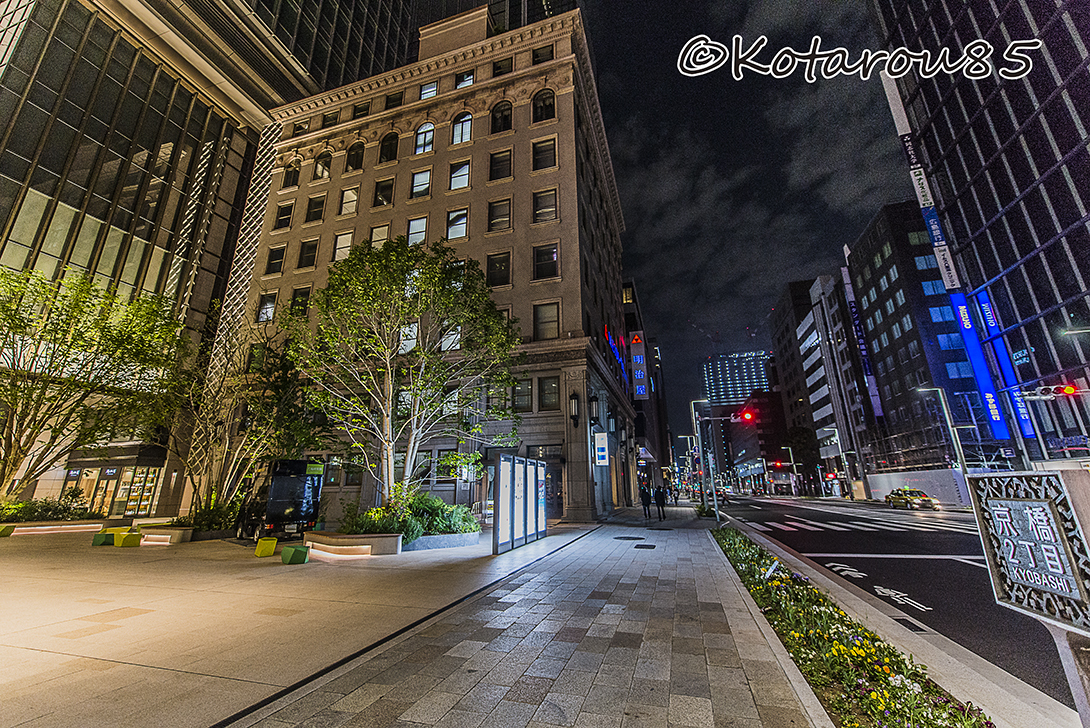 深夜の京橋 20170508