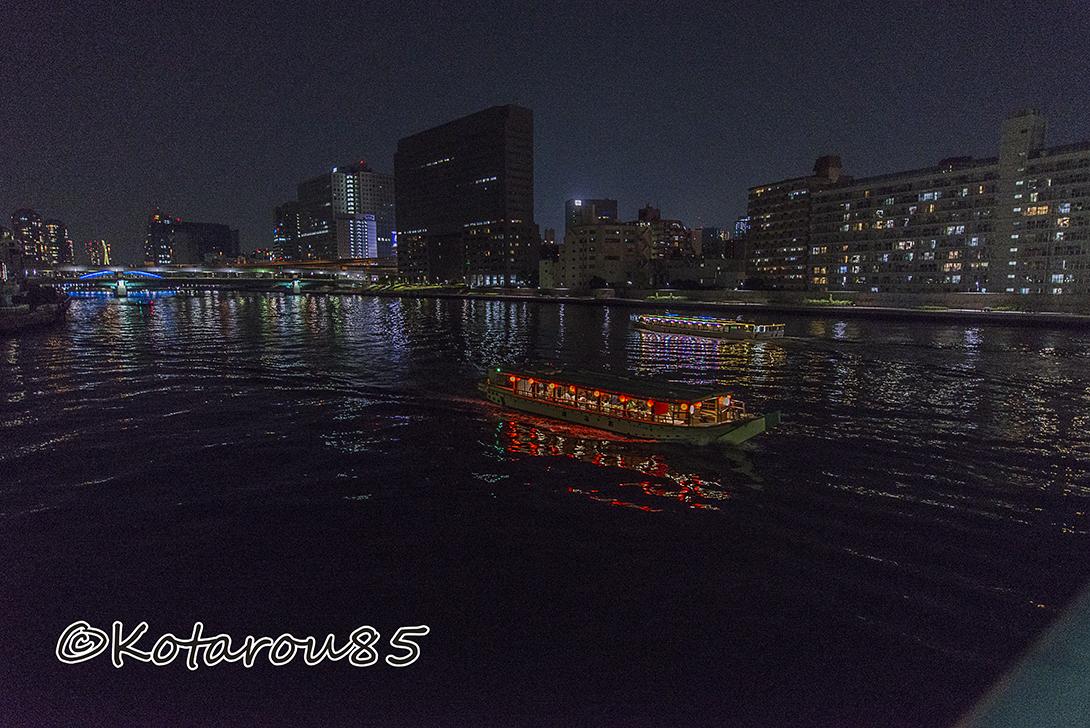 隅田川と屋形船 20170521