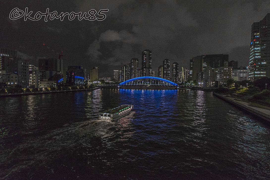 雨の永代橋 20170525