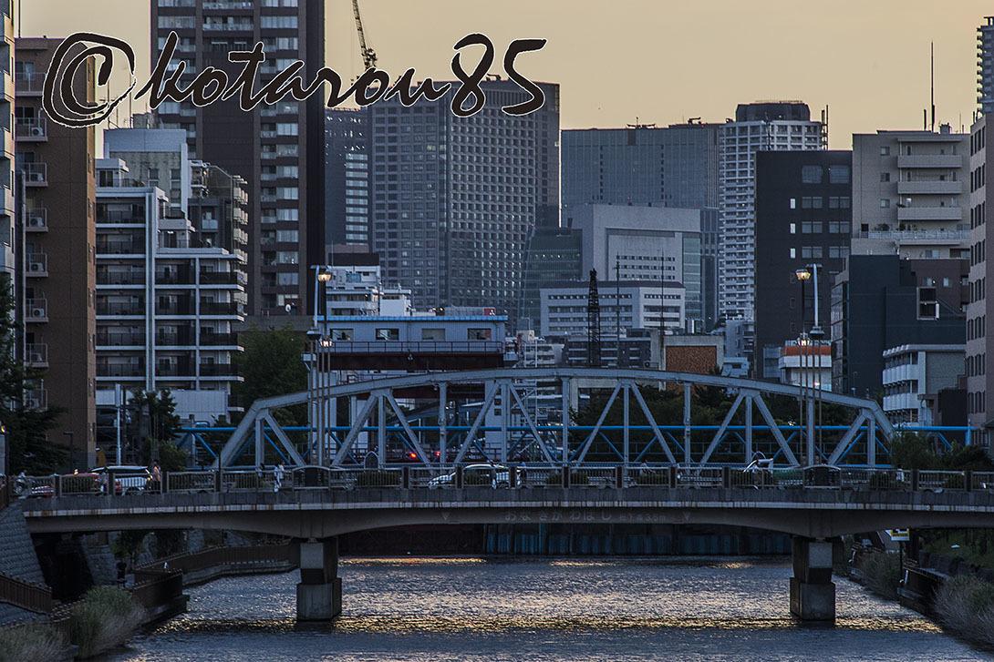 運河の街 梅雨の夕暮れ 20170613