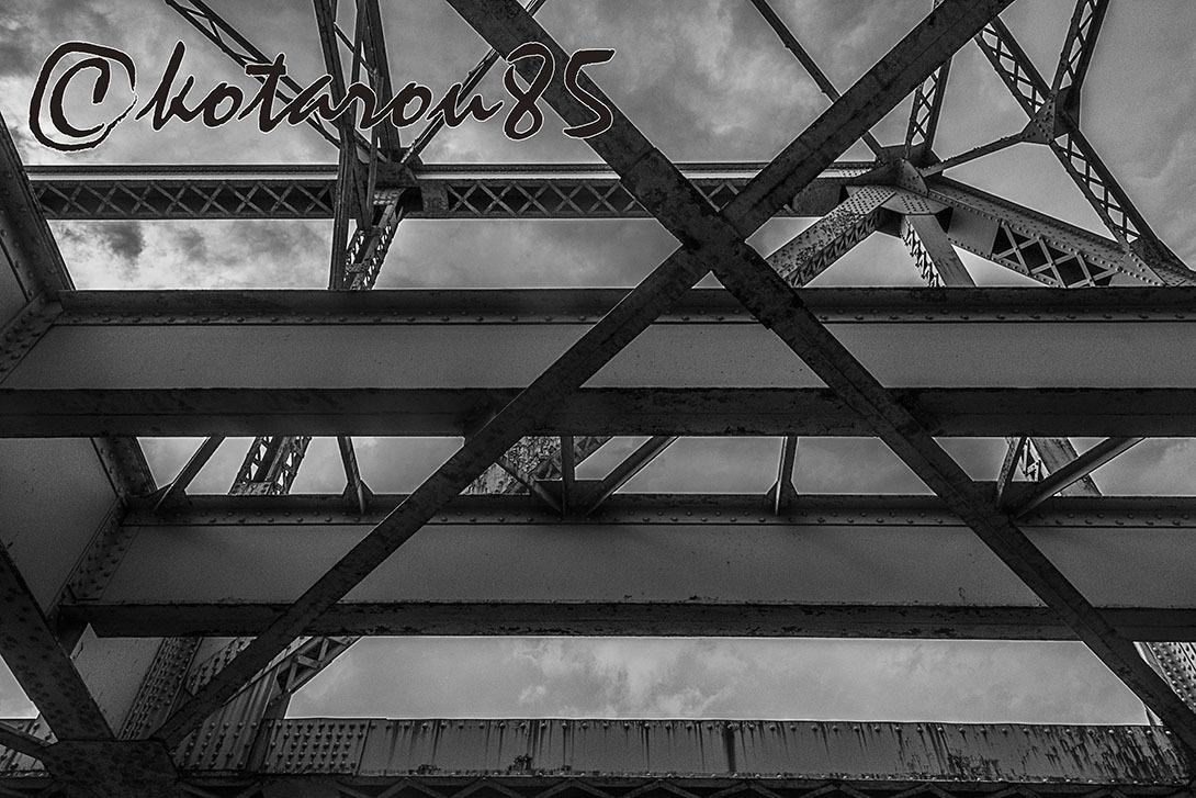運河の街の老貨物線 20170613