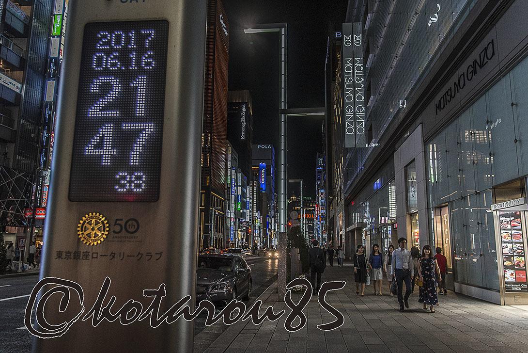 いつもの時計前で 20170617
