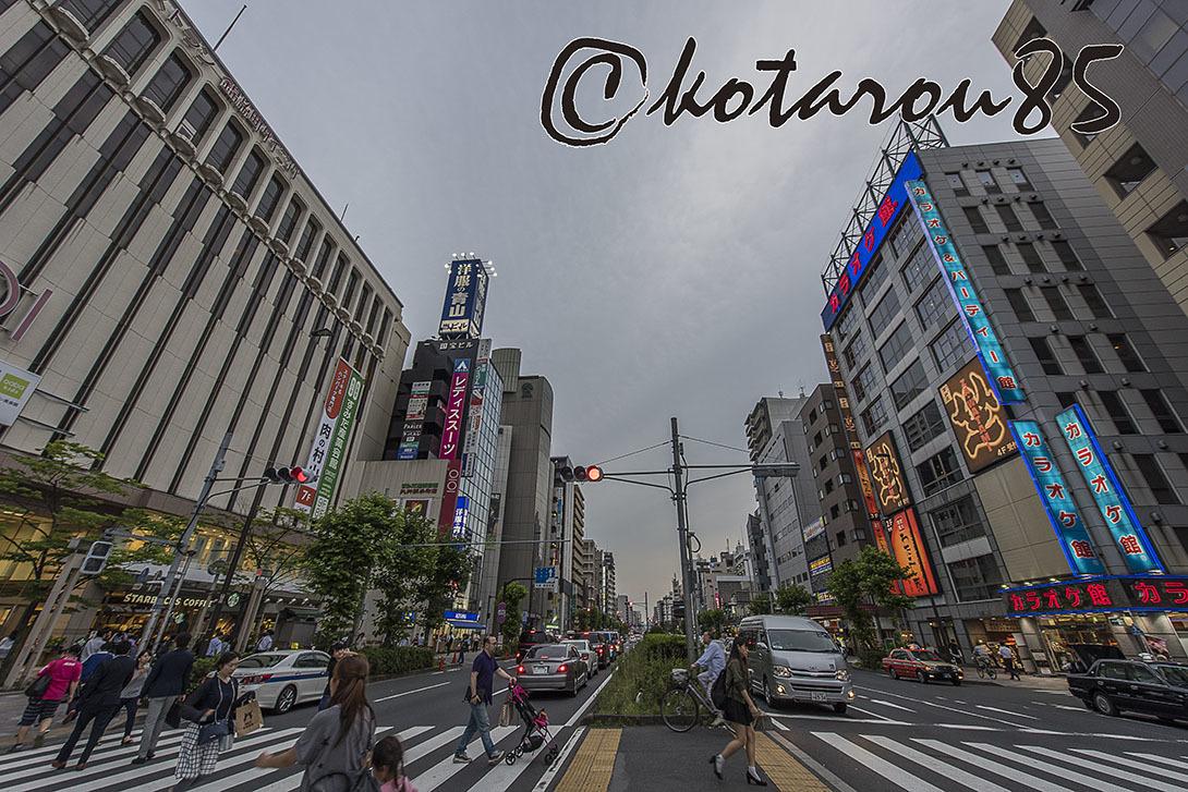 梅雨の夕暮れ 錦糸町 20170623