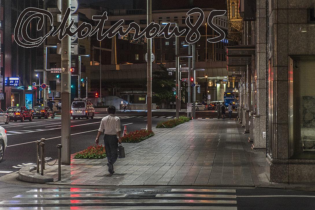 深夜の日本橋 20170706