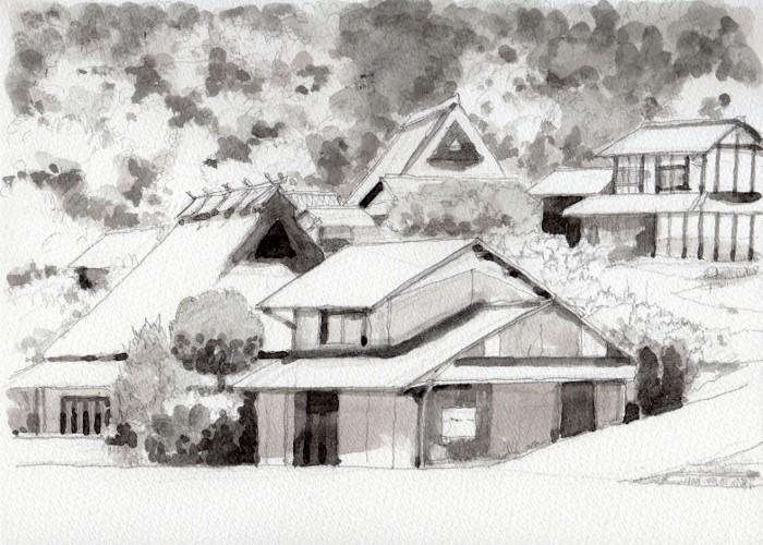 日吉町3 グリザイユ (700x500)