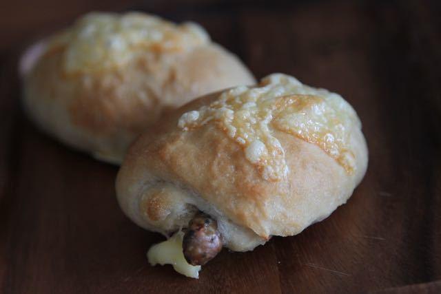 バジルウィンナーパン