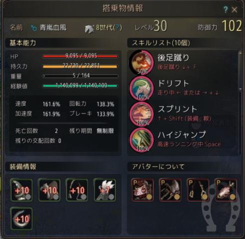 青嵐血風8