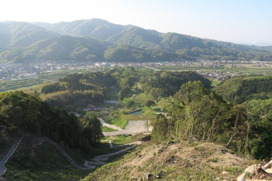 月山富田城9