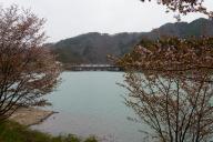 満水の牧尾ダム