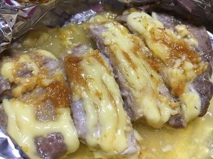豚ロース肉のホイル焼き