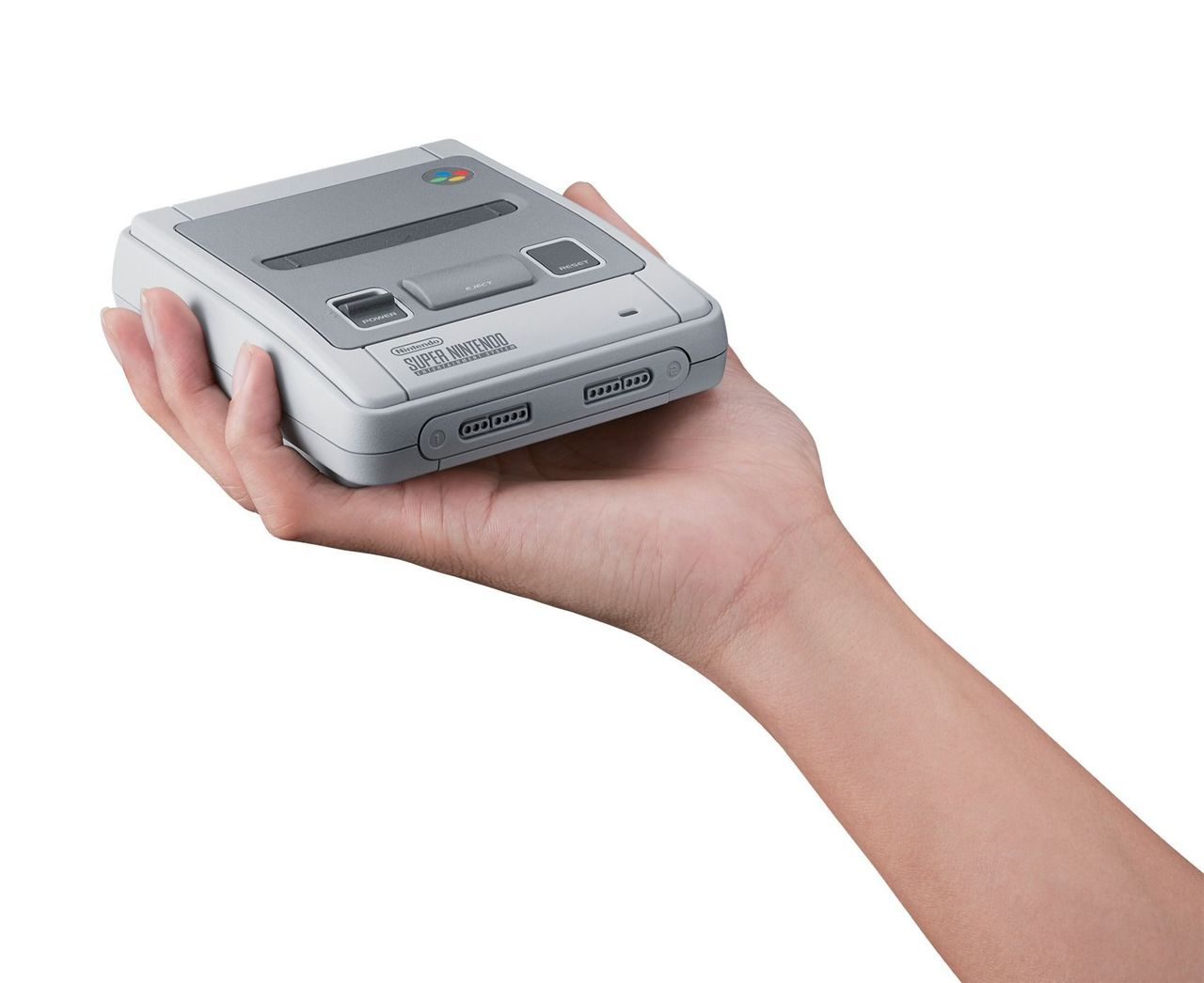 Super Nintendo Classic Mini design for Europe 2