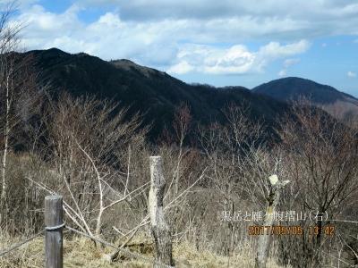 黒岳と雁ケ腹摺山
