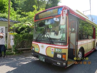 峰谷バス停