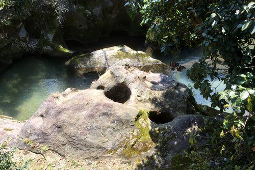 290328 千手川の甌穴群3
