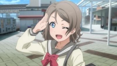 【ラブライブ!】曜「おはヨーシコー!」パイタッチ