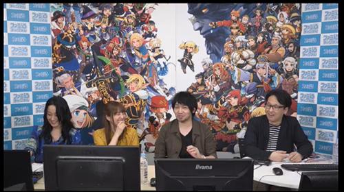 左から浅川悠さん、加藤英美里さん、中村悠一さん、ファミ通オポネ菊池さん