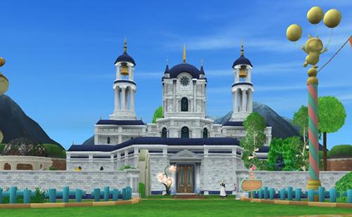転職神殿-全景