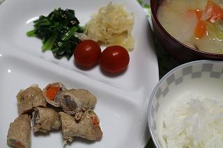 根菜肉巻き