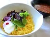 トマトつけ麵カボチャコンニャク麺