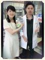 松原先生と奥様
