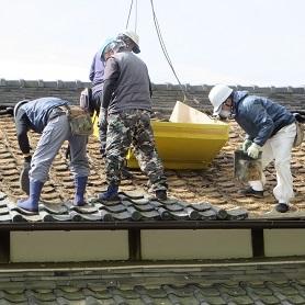 屋根工事・4