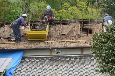 屋根工事・6