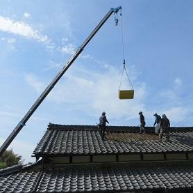 屋根工事・3